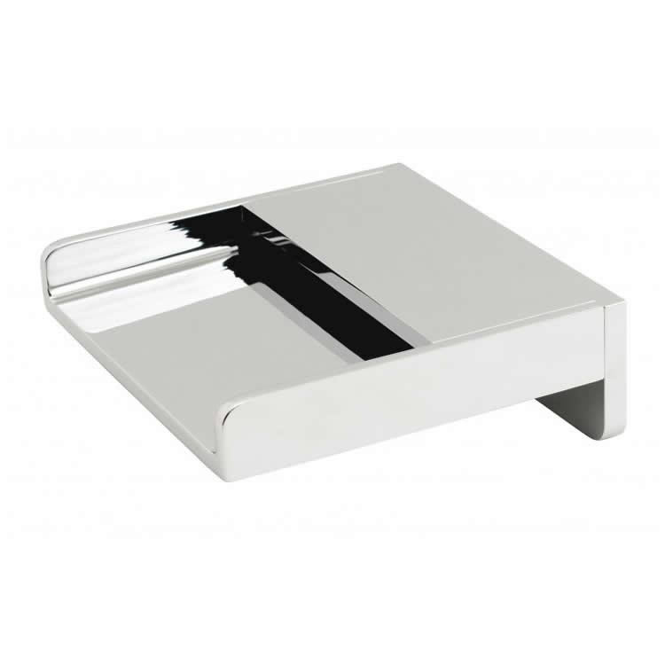 Vado Synergie Wall Mounted Waterfall Bath Spout Image 1