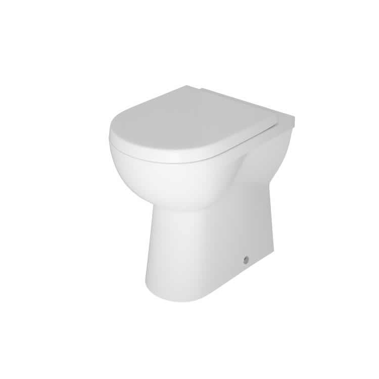 Photo of The White Space Comfort Height Back to Wall WC