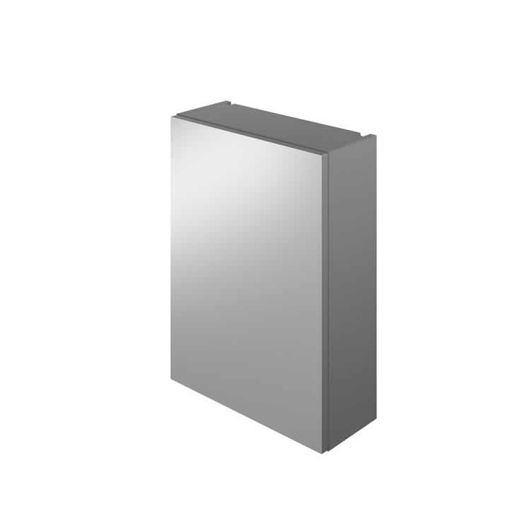 Photo of The White Space 450mm Single Door Mirror Cabinet