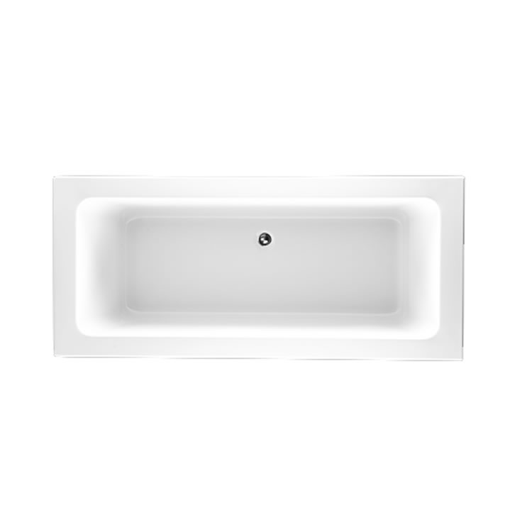 Photo of The White Space Aluna 1800 x 800mm Double Ended Bath