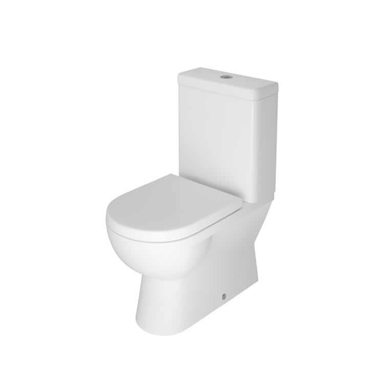Photo of The White Space Close Coupled Closed Back WC