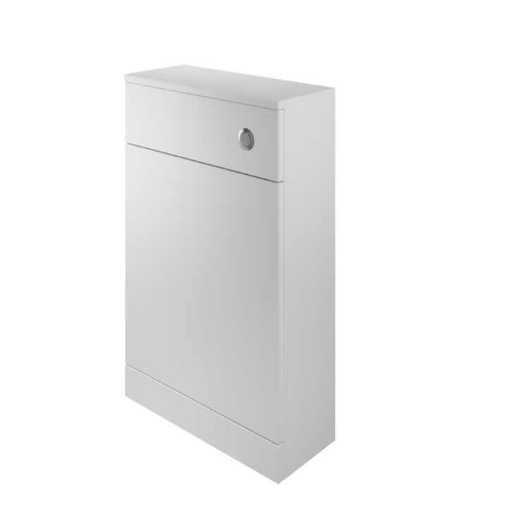 Photo of The White Space Single Door WC Unit with Gloss White Finish