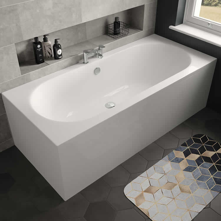 Photo of The White Space Magnus 1800 x 800mm Double Ended Bath