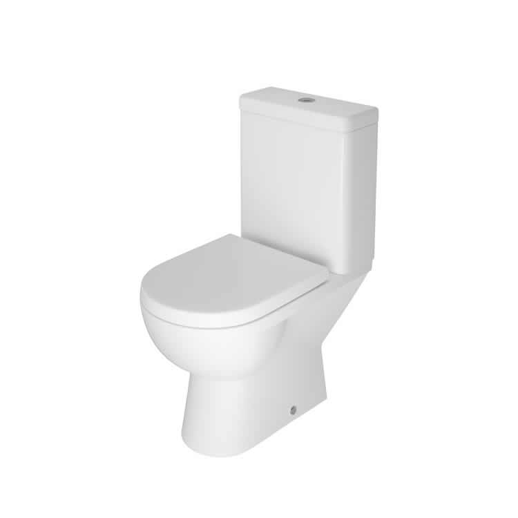 Photo of The White Space Close Coupled Open Back WC