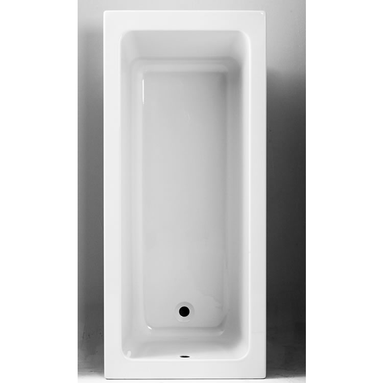 Photo of The White Space Vale 1800 x 800mm Single Ended Bath