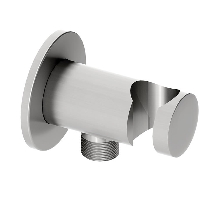 Photo of Abacus Emotion Chrome Round Wall Outlet & Holder