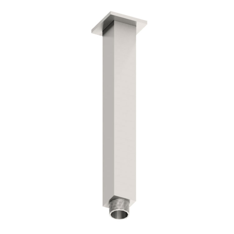 Photo of Abacus Emotion Chrome Square 200mm Fixed Ceiling Shower Arm