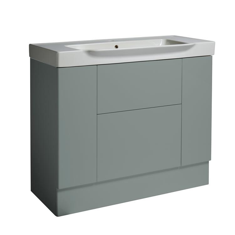 Photo of Roper Rhodes Academy Agave Gloss 1000mm Freestanding Unit & Basin