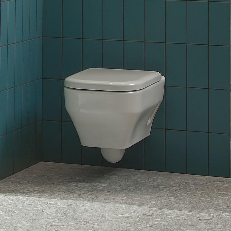 Roper Rhodes Accent Wall Hung WC & Seat - Image 1