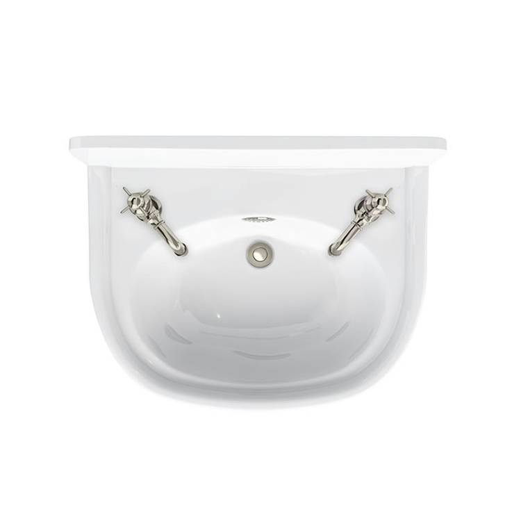 Arcade 500 Cloakroom Basin with 2 Tap Holes | Sanctuary ...