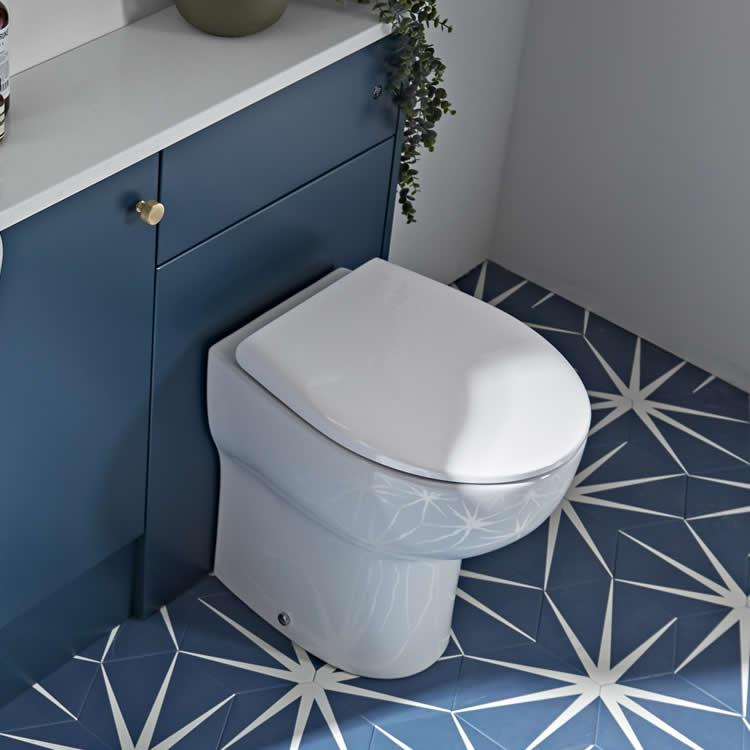 Photo of Roper Rhodes Archetype 490mm Rimless Back to Wall WC & Soft Close Seat