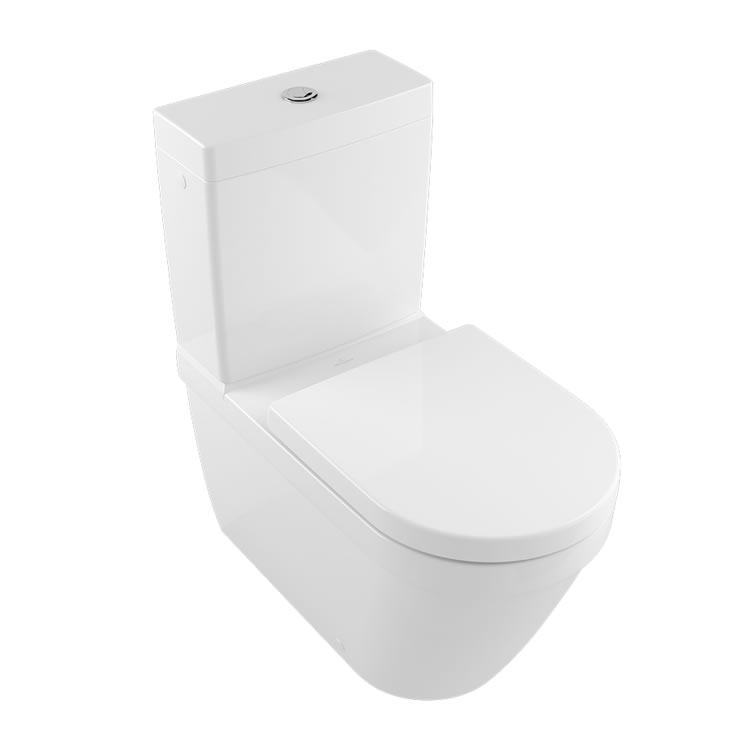Photo of Villeroy&Boch Architectura Close Coupled Rimless WC & Seat