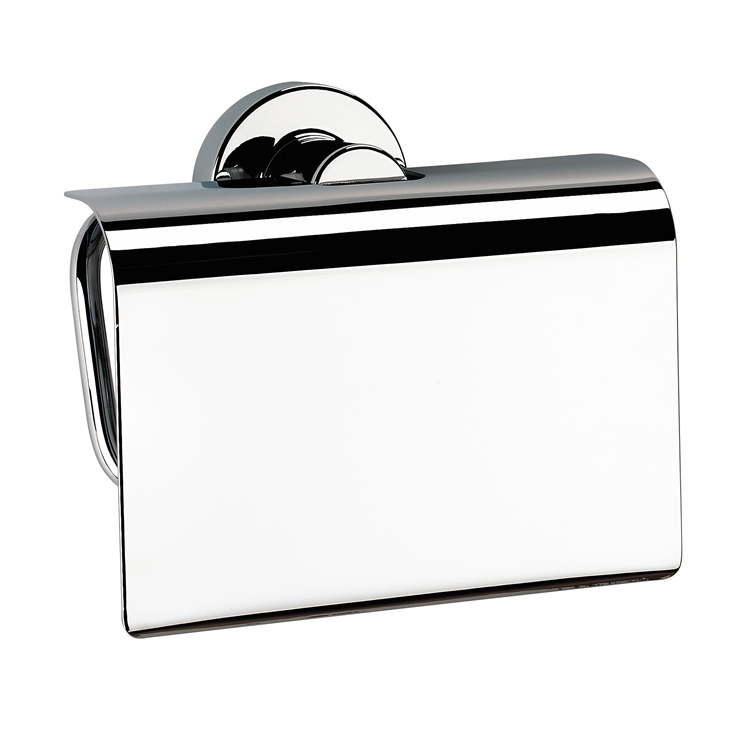 Photo of Bathroom Origins Tecno Project Toilet Roll Holder with Flap