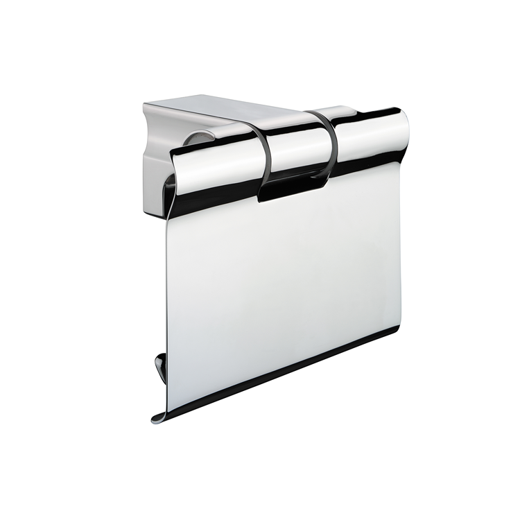 Photo of Bathroom Origins S1 Toilet Roll Holder with Flap