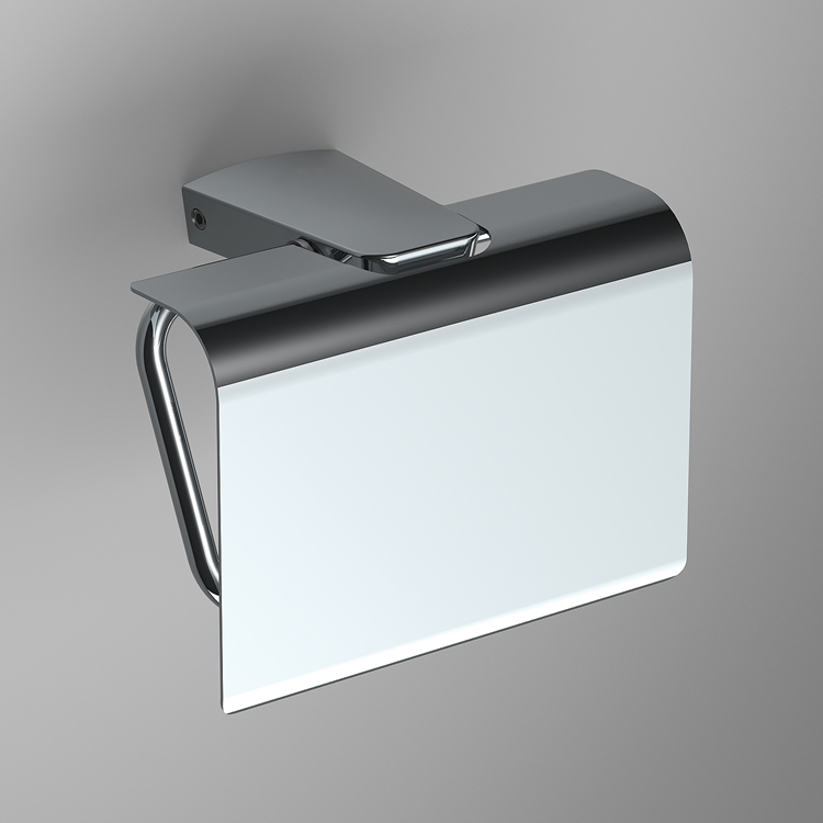 Photo of Bathroom Origins S6 Toilet Roll Holder with Flap