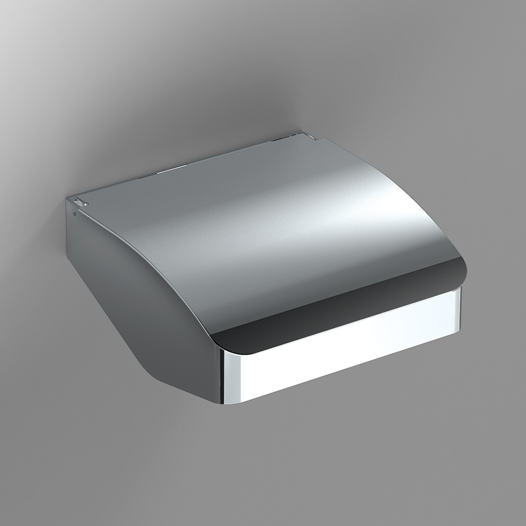 Photo of Bathroom Origins S Cube Toilet Roll Holder with Flap