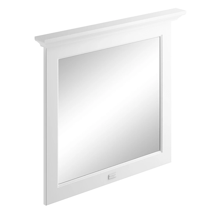 Photo of Bayswater Pointing White 800mm Flat Bathroom Mirror