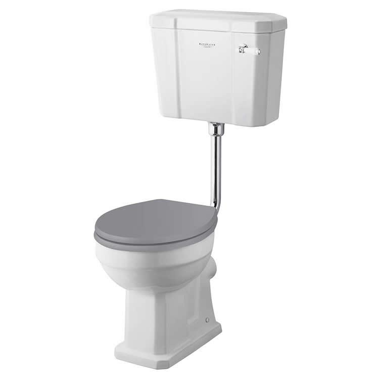 Photo of Bayswater Fitzroy Low Level Comfort Height WC & Cistern Cutout