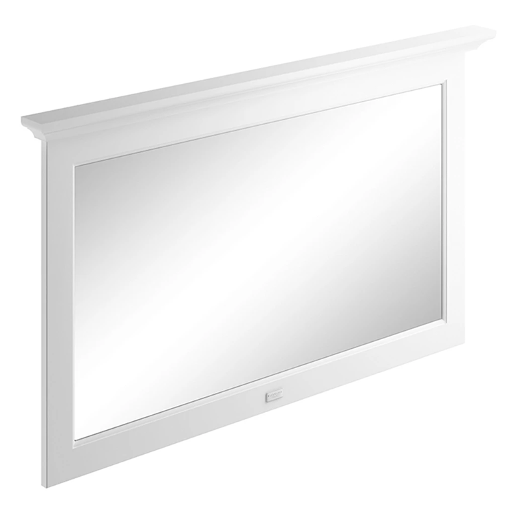 Photo of Bayswater Pointing White 1200mm Flat Bathroom Mirror