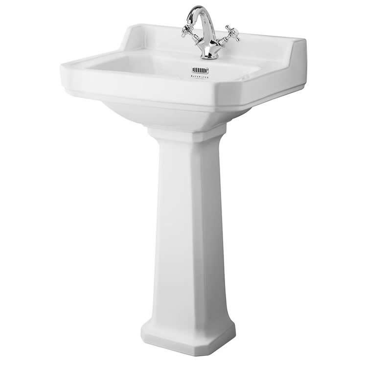 Photo of Bayswater Fitzroy 560mm Basin & Comfort Height Pedestal