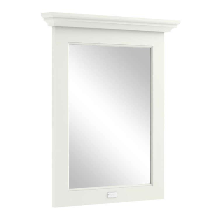Photo of Bayswater Pointing White 600mm Flat Bathroom Mirror