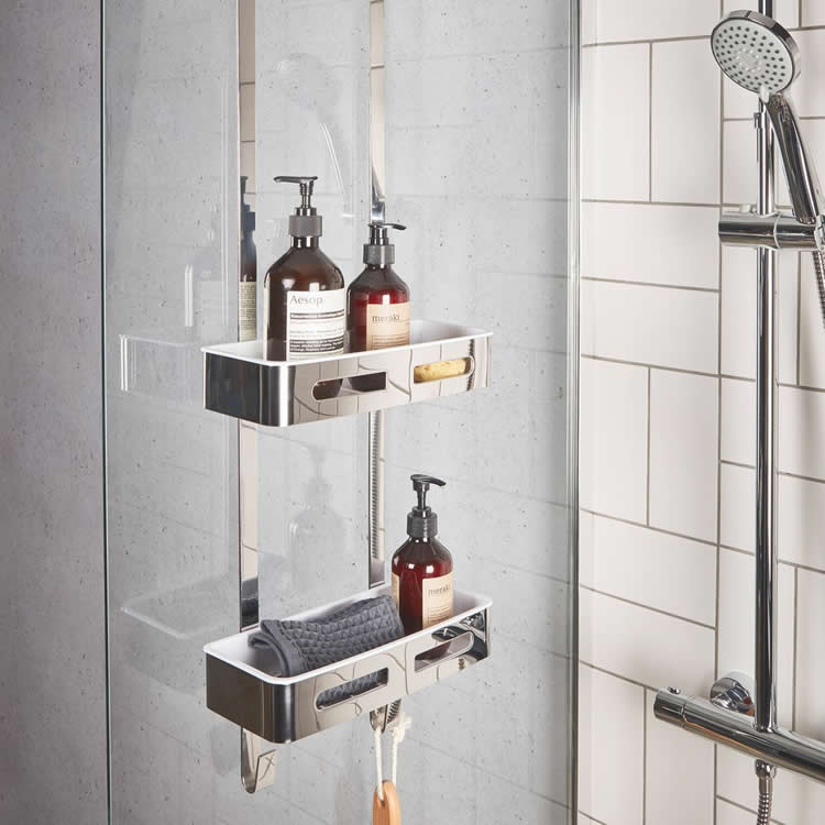 Photo of Roper Rhodes Case Chrome Shower Caddy - Image 1