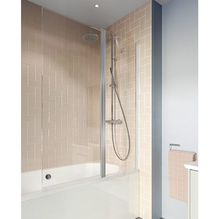 Photo of Crosswater Clear 6 Double Bath Panel