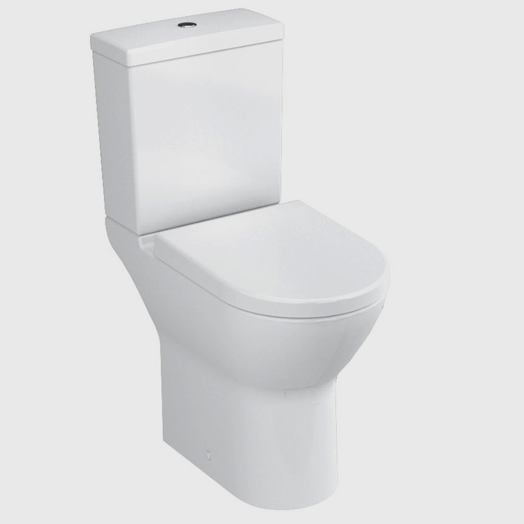 Vitra S50 Comfort Raised Height Close Coupled WC Suite - Open Back - Image Shot