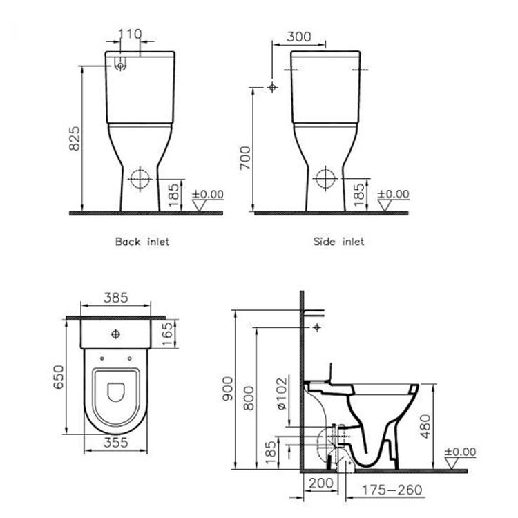 Vitra S50 Comfort Raised Height Close Coupled Wc Suite Open Back Sanctuary Bathrooms