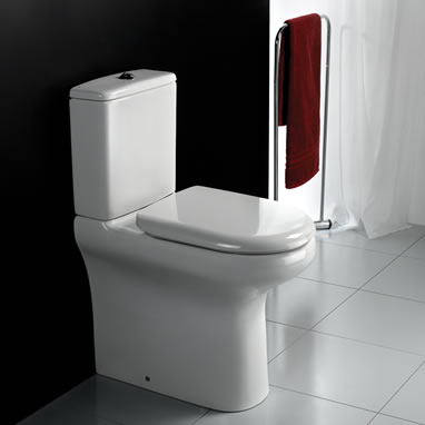 RAK Compact Deluxe Rimless Close Coupled WC