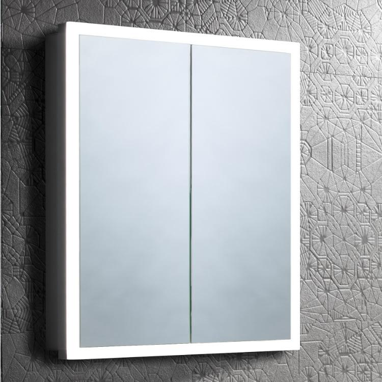 Lifestyle Photo of Roper Rhodes Contrast 650mm Double Door LED Recessed Cabinet