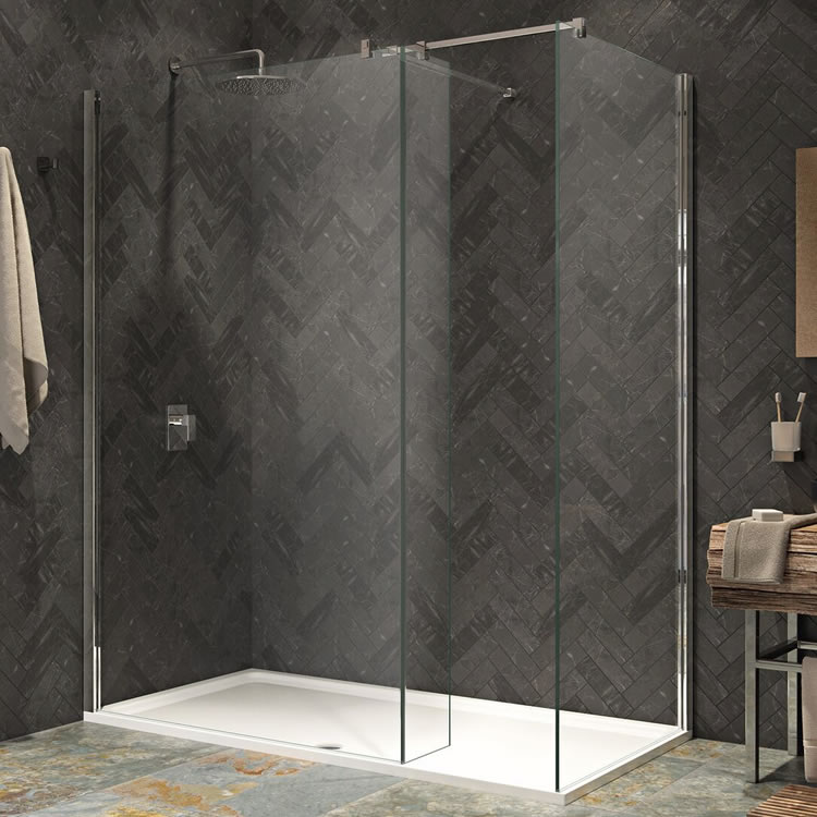 Kudos Ultimate2 1500mm Walk In Shower Enclosure & Shower Tray