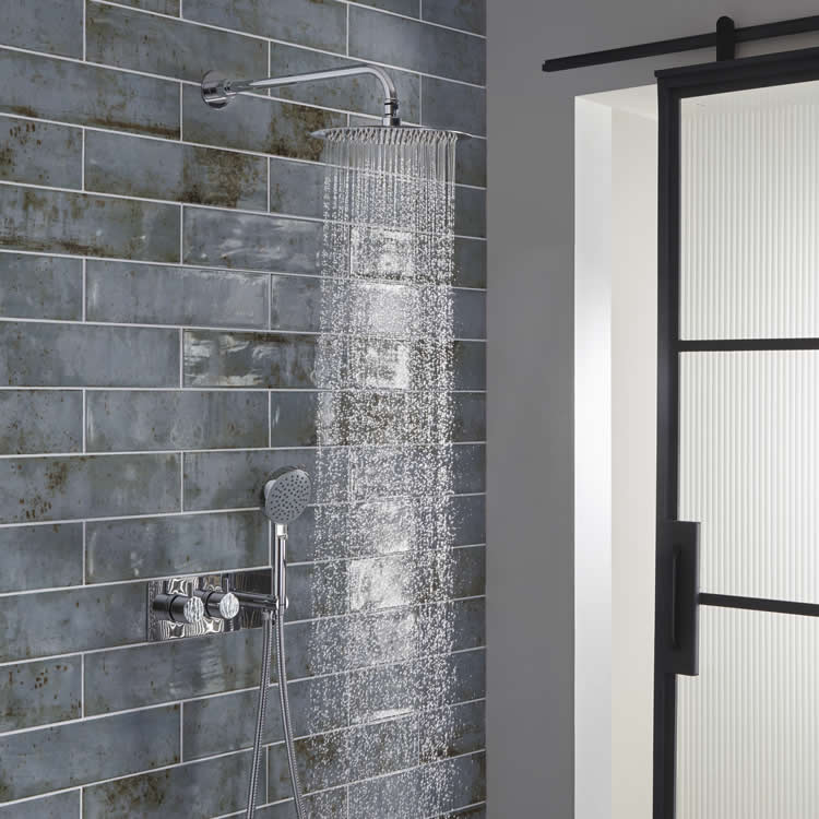 Roper Rhodes Craft Chrome Dual Function Shower System - Image 1