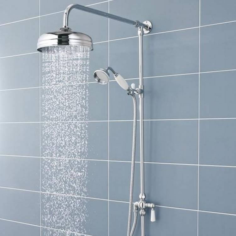Photo of BC Designs Victrion Superbe Fixed Riser Kit with Shower Head & Handset