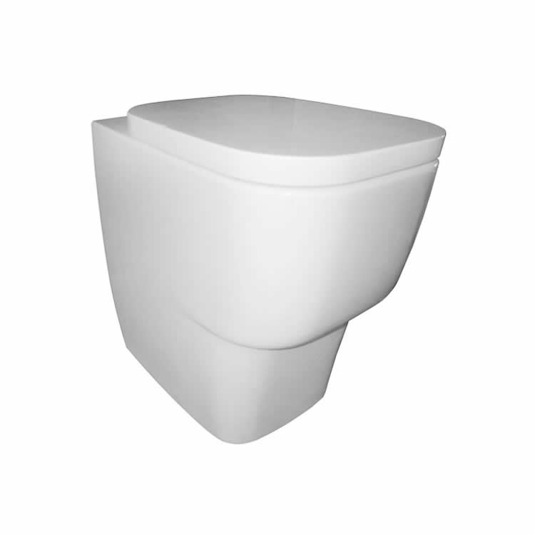 Frontline Cubix Back To Wall WC Inc Soft Close Seat