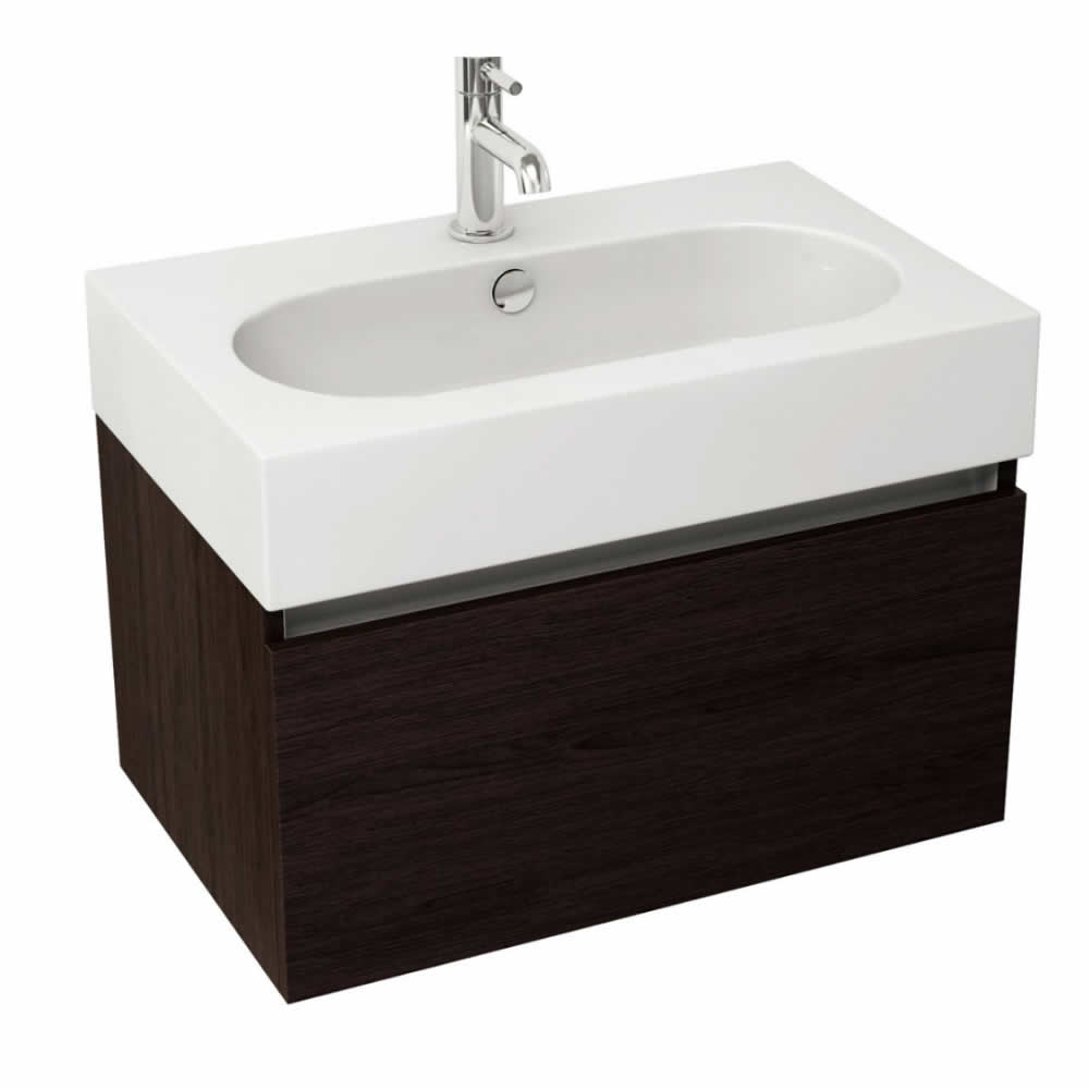 Pura Echo 60 X 38cm Wenge Wall Mounted Unit Vanity Units
