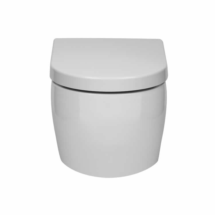 Frontline Emme Wall Hung WC & Soft Close Seat