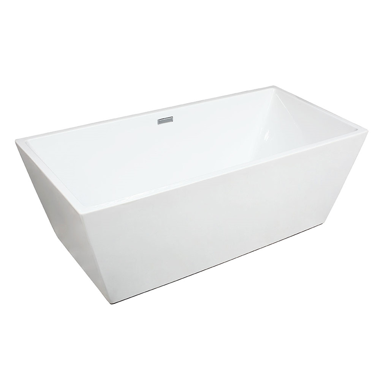 Photo of Frontline Minimal Twin Skinned 1700mm Double Ended Freestanding Bath