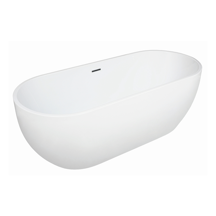 Photo of Frontline Modern Twin Skinned 1650mm Double Ended Freestanding Bath