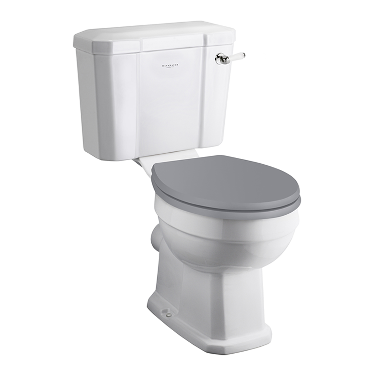 Photo of Bayswater Fitzroy Close Coupled Comfort Height Toilet & Cistern