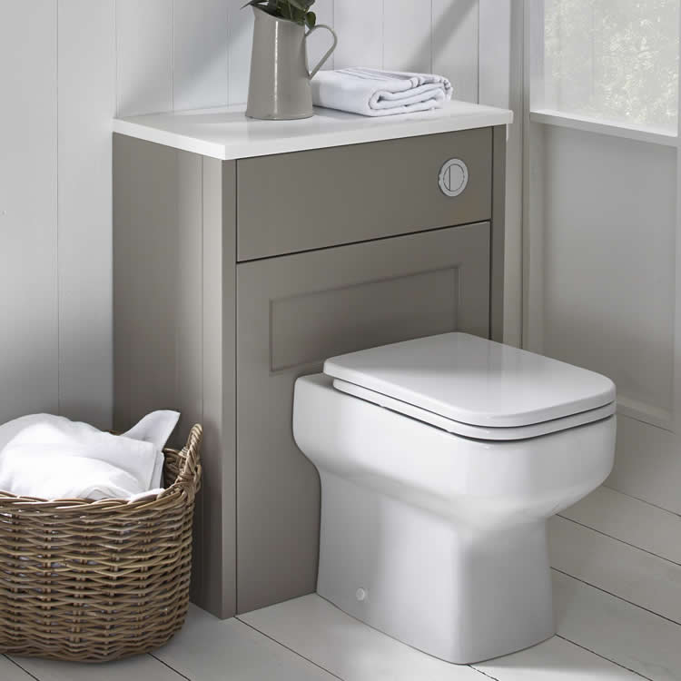 Roper Rhodes Geo Back To Wall WC & Seat - Image 1