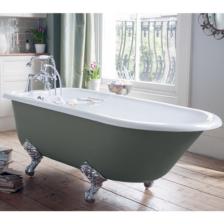 Lifestyle Photo of Heritage Essex Cast Iron Freestanding Single Ended Bath