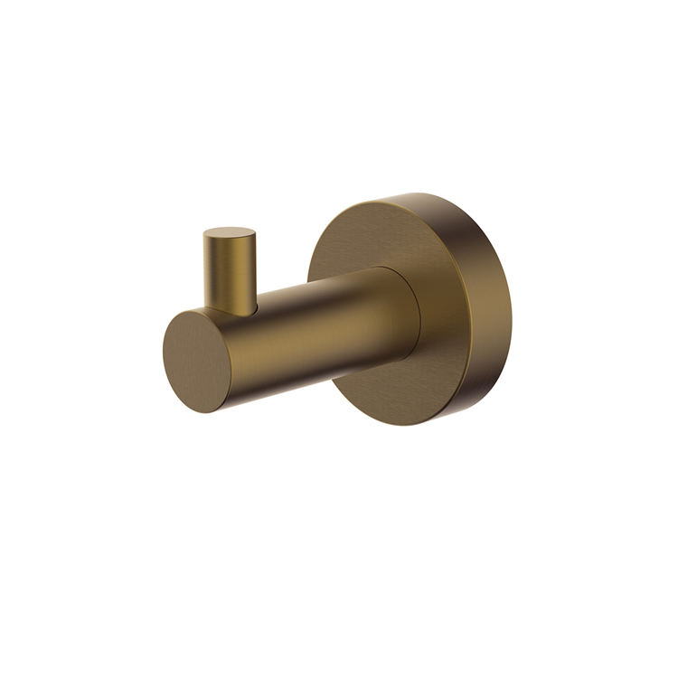 Photo of Britton Bathrooms Hoxton Brushed Brass Robe Hook