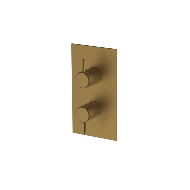 Photo of Britton Bathrooms Hoxton Brushed Brass Concealed Shower Valve