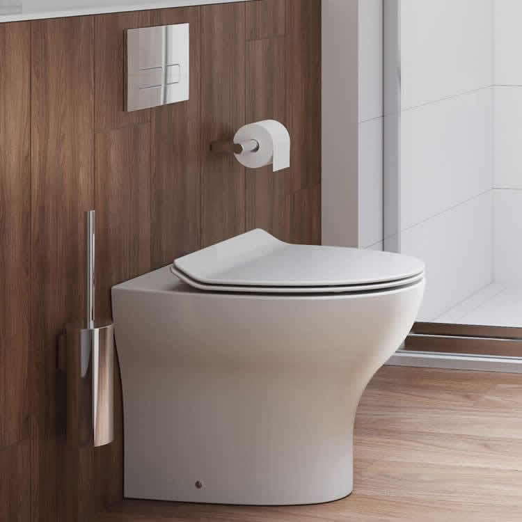 Lifestyle Photo of Crosswater Kai Back To Wall WC & Soft Close Thin Seat