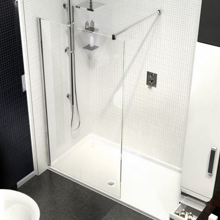 Kudos Ultimate2 1500mm Walk In Shower & Shower Tray