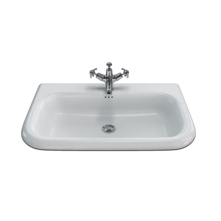 Clearwater Large Traditional Roll Top Basin