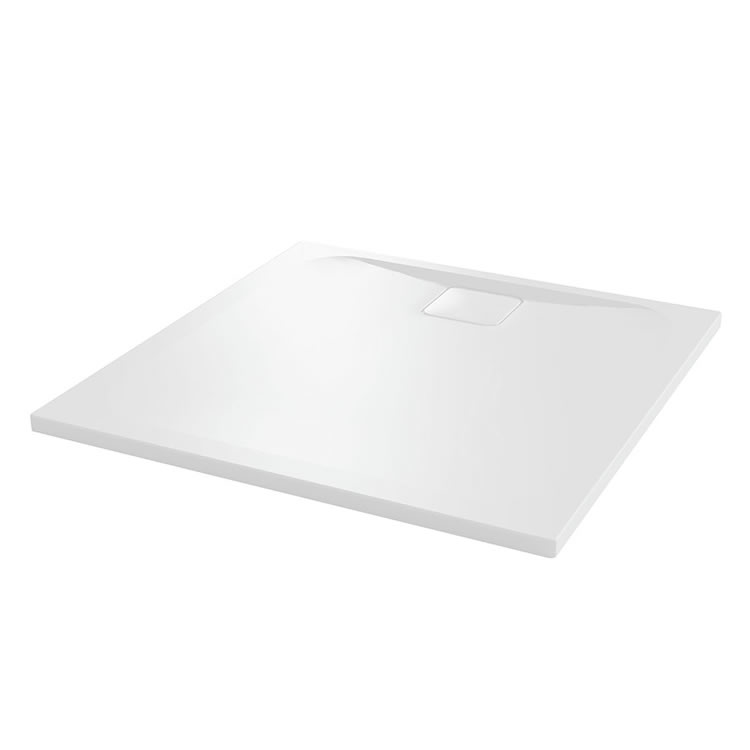 Merlyn Level 25 900mm Square Shower Tray & Waste