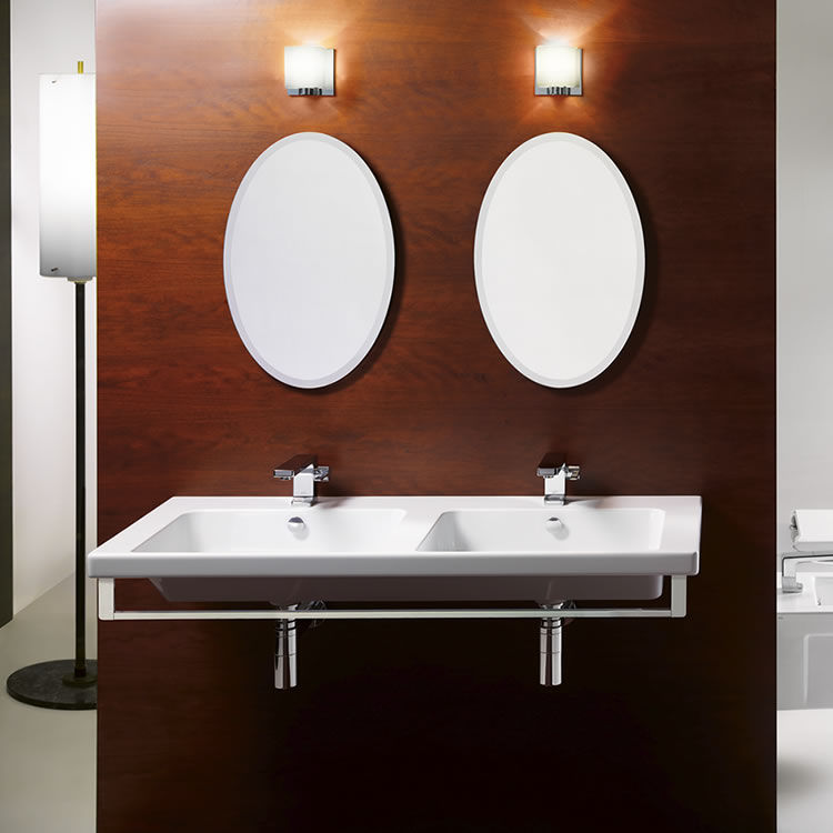 gsi norm double basin wall hung 125
