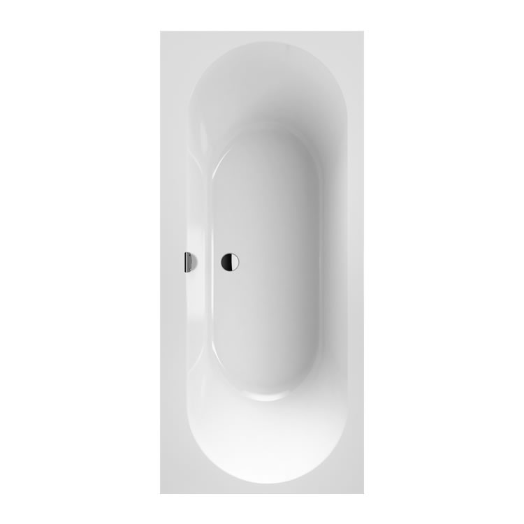 Photo of Villeroy &Boch Oberon Duo 1700 x 750mm Double Ended Bath